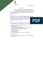Informe de Relevamiento de Información Sobre La Ejecución Del Programa Operativo Anual 2014 y Planificación Estratégica 2014 – 2016