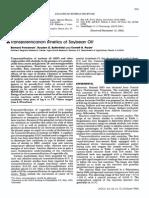 Transesterification Kinetics of Soybean Oil FREEDMAN