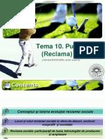 Tema 10. Reclama Sociala