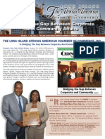 Long Island African American Chamber of Commerce, Inc. 2014 Fall Newsletter