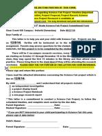 2013-2014 Science Fair Packet