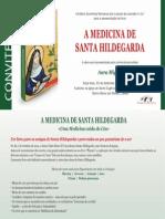 Convite a Medicina de Sta Hildegarda