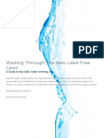 Wading Through the New Lead-Free Laws A Guide to the Safe Water Drinking Act
