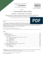 Statistical Parametric Speech Synthesis