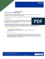 8189421 CAPITULO 5 Implementacion Administracion y Administracion de Group Policy