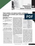 Sistema Juridico Ambiental Peruano