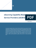 ESourcing Capability Model ESCM SP