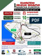 Mr 2014 Marcha Europea