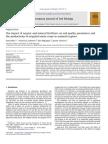 El Impacto de Fertilizantes Organicos y Minerales en Los Parametros de Calidad Del Suelo y La Productividad