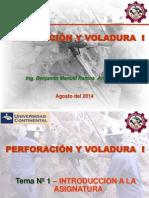 Perforacion y Voladura I-Tema_01