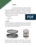 análisis granulométrico