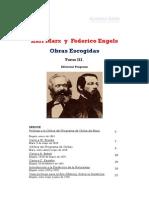 Obras Escogidas Tres Tomos C Marx F Engels_Tomo III