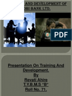 REVA Training and Development of IDBI Bank Ltd