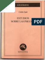 Estudios Sobre Las Psicosis - Colette Soler