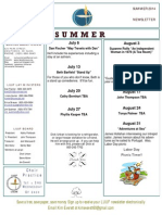 Luuf Newsletter Summer 2014