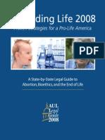 DefendingLife2008-StrategiesForAProLifeAmerica