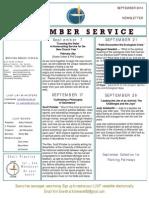 Luuf Newsletter Sept 2014