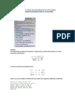 Parcial Final de Matematicas Aplicadas
