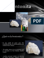 Exposición de Bentonita