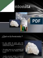 Exposiciòn de la bentonita.pptx
