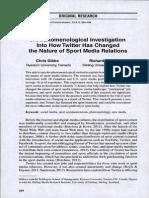 Twitter -- Media Relations