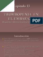 Capitulo 13. Trombocitopenia