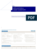 NPG-Application & Asset Inventory