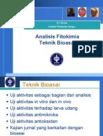 Analisis Fitokimia Teknik Bioasai 2