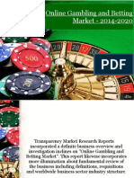 Online Gambling and Betting Market - 2014-2020