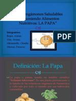 """""""Mantengamonos Saludables Consumiendo Papa"""" - Día del Logro Biología"""