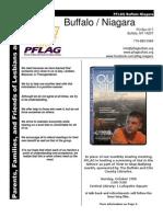 PFLAG Buffalo Niagara October newsletter