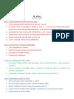 Guía de Lectura - La Odisea