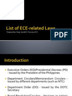 ECE Related Laws