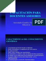 CAPACITACION DOCENTES ASESORES