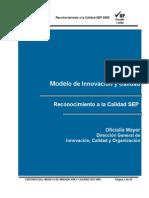 Modelo de Innovación y Calidad05 SEP