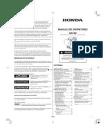 Manual Motor Honda Gx100