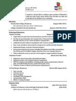 Dn h Education Resume