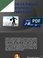 Gestion de Riesgo Crediticio y Operativos