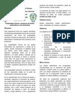 Lab 1 Prop. Fis. y Qm. de Ac. Carboxilicos