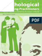 Psychological Wellbeing Practitioners Best Practice Guide