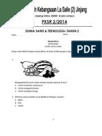 Soalan Pksr2-Dst THN 2