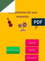 1° - Instrumentos de una orquesta