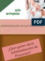 4Administraci+¦n de proyectos