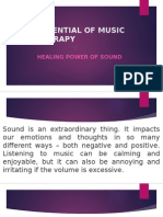 Essential of Music Therapy