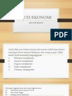 Kuiz Ekonomi Xi Mia 2014