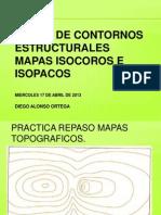 Mapas de Contornos Estructurales-mapas Isopacos e Isocoros