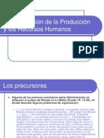 Administración de La Producción y Los Recursos Humanos