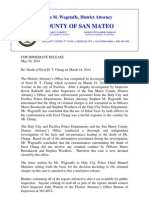 San Mateo DA Review of Errol Chang Shooting 5.30.2014