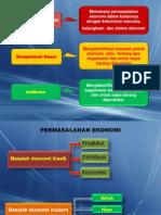 Permasalahan Ekonomi Dan Sistem Ekonomi