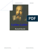 El Teatro de Galileo Galilei - Bertolt Brecht[1]